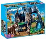 Playmobil  Grotte préhistorique avec mammouth 5100