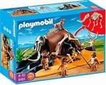 Playmobil Tente préhistorique avec chasseurs 5101