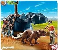 Playmobil Hommes préhistoriques avec ours 5103