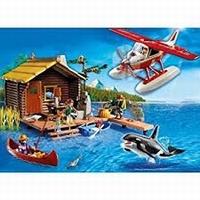 Playmobil Cabane du pêcheur et hydravion 5039