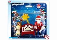 Playmobil Père Noël et ange 4889