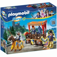 Playmobil Tribune avec Alex Super4 6695