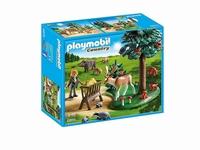 Playmobil Garde forestière avec animaux 6815