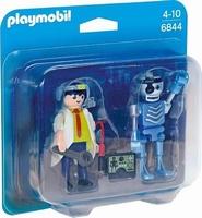 Duo Inventeur et robot 6844