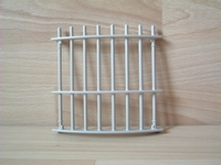 Cage pour fauves grille