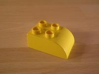 Brique 2 picots jaune