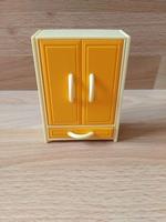 Armoire jaune