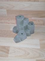 Rocher gris 3 trous