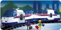 Playmobil Train à grande vitesse TGV radio-commandé