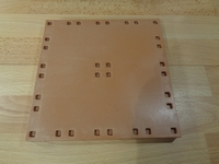 Plancher carré 18 x 18 cm