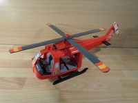 Hélicoptère de pompier