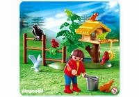 Playmobil Enfant, oiseaux et nid 4203