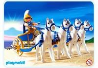 Playmobil Cavalier romain et quadrige 4274