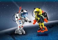 Playmobil Duo Astronautes 9448