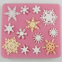 Moule flocons de neige 9 x 8,5 cm