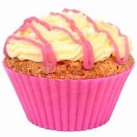10 moules cupcake muffin ROSE