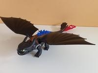 Dragon noir Krokmou