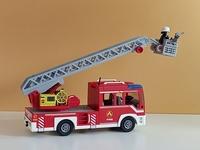 Camion de pompier en l'état