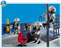 Playmobil Pompiers salle d'intervention 3176
