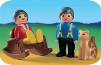 Playmobil Grands-parents chat 6722