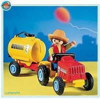 Playmobil Enfant tracteur et citerne 3066