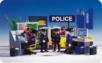 Playmobil Poste de police brigade 3957
