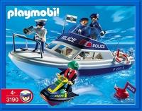 Playmobil Policiers vedette jet ski 3190