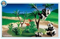 Playmobil Famille de pandas 3241