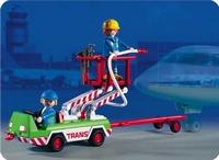Playmobil Assistants techniques élévateur 3197