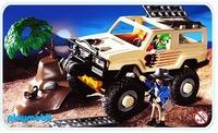 Playmobil Aventuriers véhicule 4X4  3219