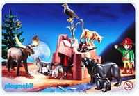 Playmobil Garde animaux de la forêt 3228