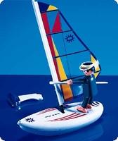 Playmobil Véliplanchiste planche à voile 3010