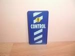 Panneau de contrôle bleu