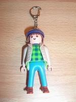 Porte clés Homme veste beige casquette