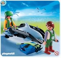 Playmobil Civière avec dauphin 4466
