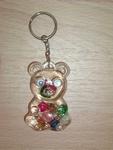 Porte clés Ours coeur