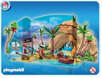 Playmobil Calendrier de l'avent Pirates 4156