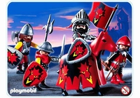 Playmobil Chevaliers du dragon rouge 3319