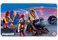Playmobil Chevaliers et gros canon 3320