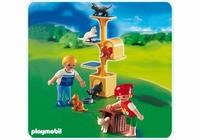 Playmobil Enfants et arbre à chats 4347