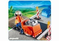 Playmobil Ouvrier avec scie à bitume 4044