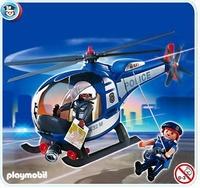 Playmobil Hélicoptère de Police 4267