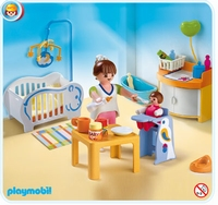 Playmobil Chambre de bébé 4286