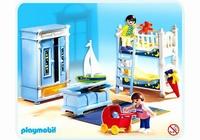 Playmobil Enfants chambre traditionnelle 5328(boite abîmée)
