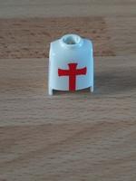 Buste croix rouge Neuf