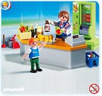 Playmobil Boutique et matériel d'entretien 4327