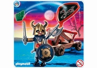 Playmobil Chevalier des loups et catapulte 4812