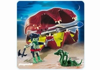 Playmobil Pirate fantôme et coquillage à canon 4802