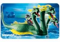 Playmobil Serpent de mer à 3 têtes et pirate fantôme 4805