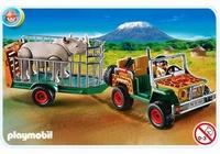 Playmobil Véhicule de safari avec rhinocéros 4832